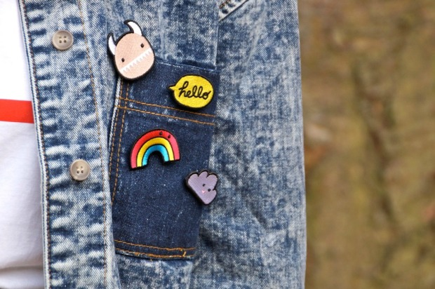 Pin's Customiser Veste en jean