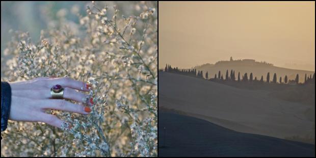Coucher de soleil_Toscane