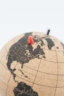 Deco map monde