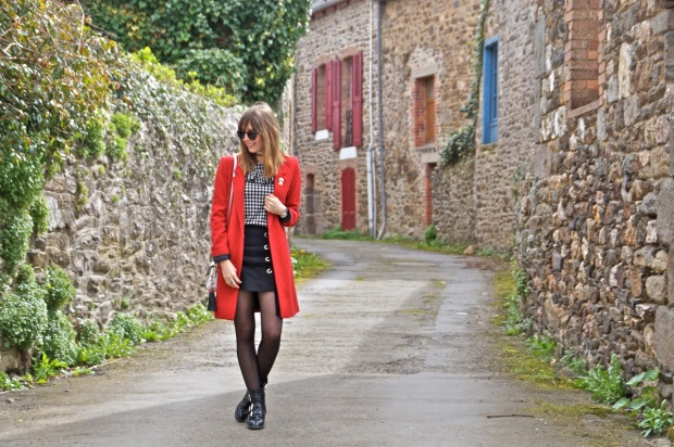 Fashion blog red coat (1)