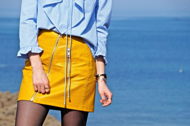 Yellow Skirt tendance Spring