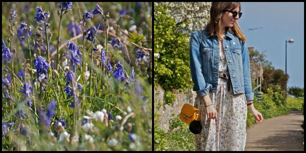 Fashion Blog Flowers Dress (1)