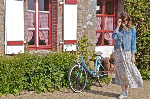 Fashion Blog Flowers Dress (11)