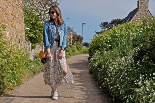 Fashion Blog Flowers Dress (9)